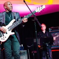 Live mit Nathan East 2016 in Spanien